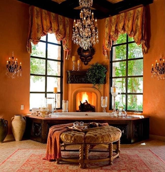 colors that go with orange interior