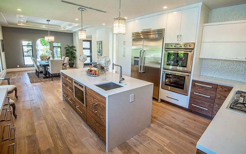 27 Two Tone Kitchen Cabinets (Stylish Design Ideas
