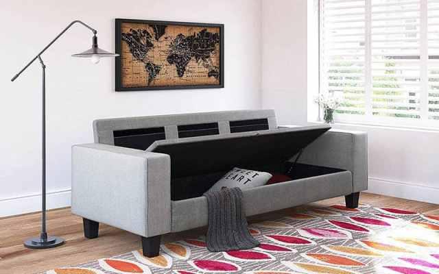 Depolama kanepeli oturma odası