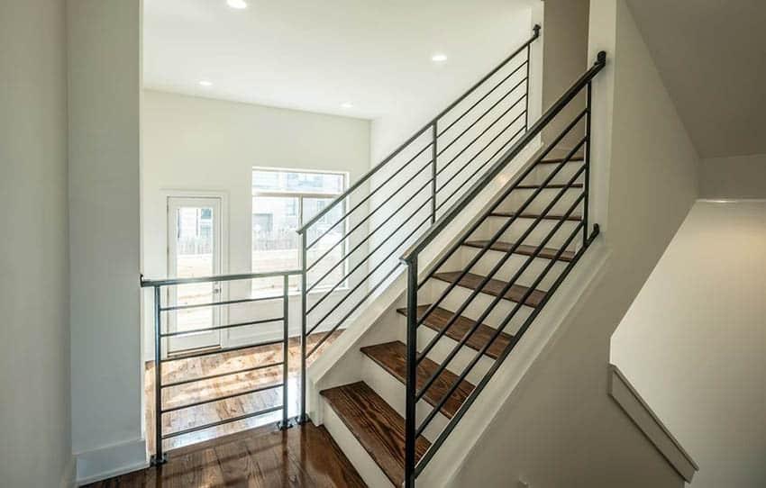 60 Gorgeous Stair Railing Ideas Designing Idea | Modern Style Stair Railing | Handrail | Art Deco | Rustic Farmhouse | Decorative | Unique Fancy Stair