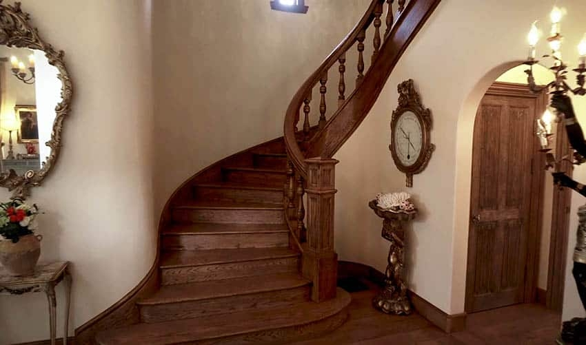 60 Gorgeous Stair Railing Ideas Designing Idea   Wooden Railing Designs For Stairs   Handrail   Different Kind Wood   Combination Wood   Interior   Indoor