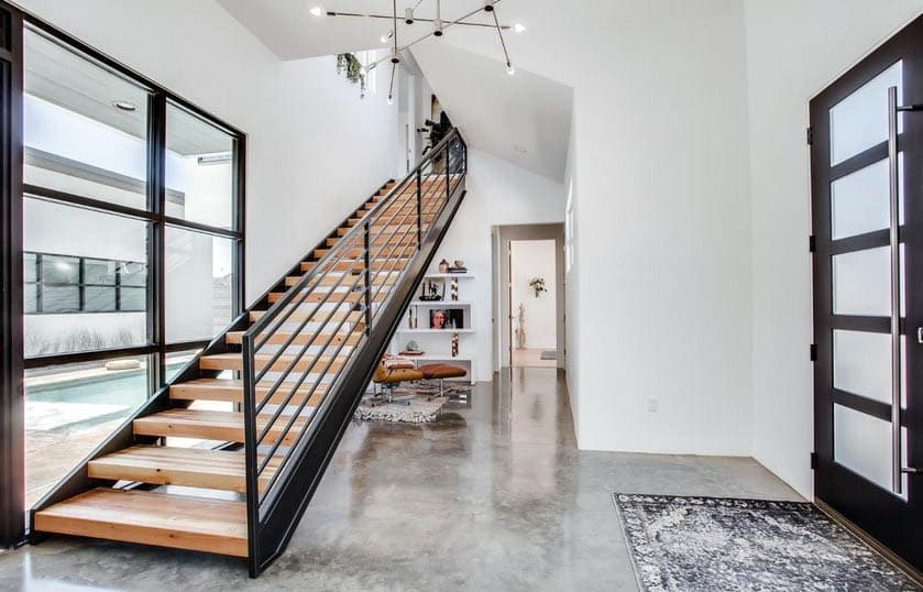 Indoor Stair Railing Design Designing Idea | Wooden Stair Railing Prices | Staircase Ideas | Deck Railing | Frameless Glass | Steel | Glass Stair