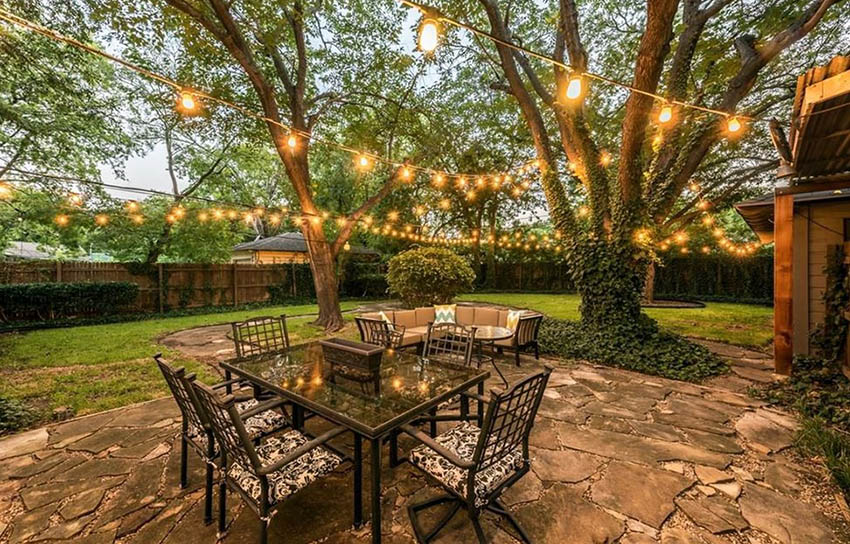 how to hang string lights designing idea