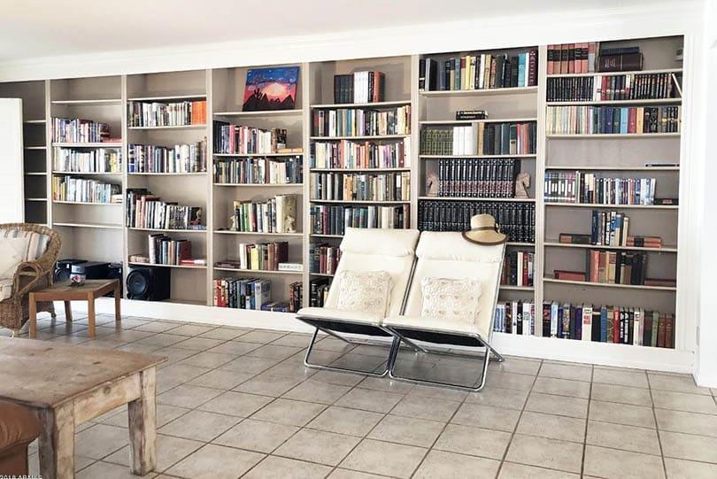 built in bookshelves diy custom