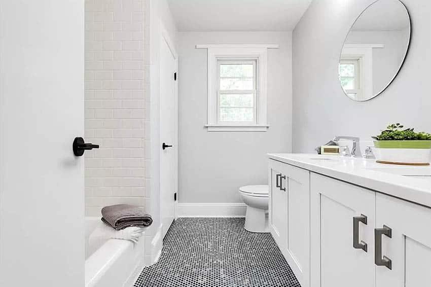 penny tile floor styles design guide