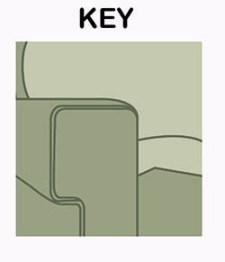 Anahtar kanepe kol sandalye stili