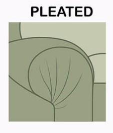 Pileli koltuk tarzı