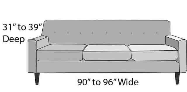 Üç kişilik kanepe boyutu