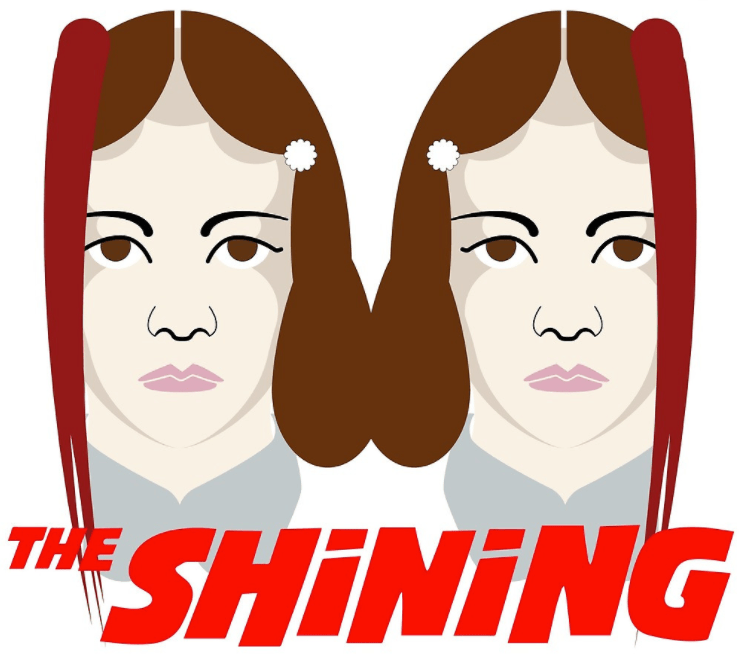 The Shinning tshirt by designing life