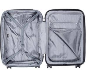 roller bag inside
