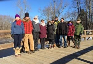 Group shot at Old North Bridge