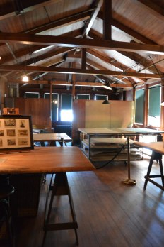One of the firm's drafting rooms.
