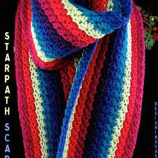 Starpath Scarf stripes 600w