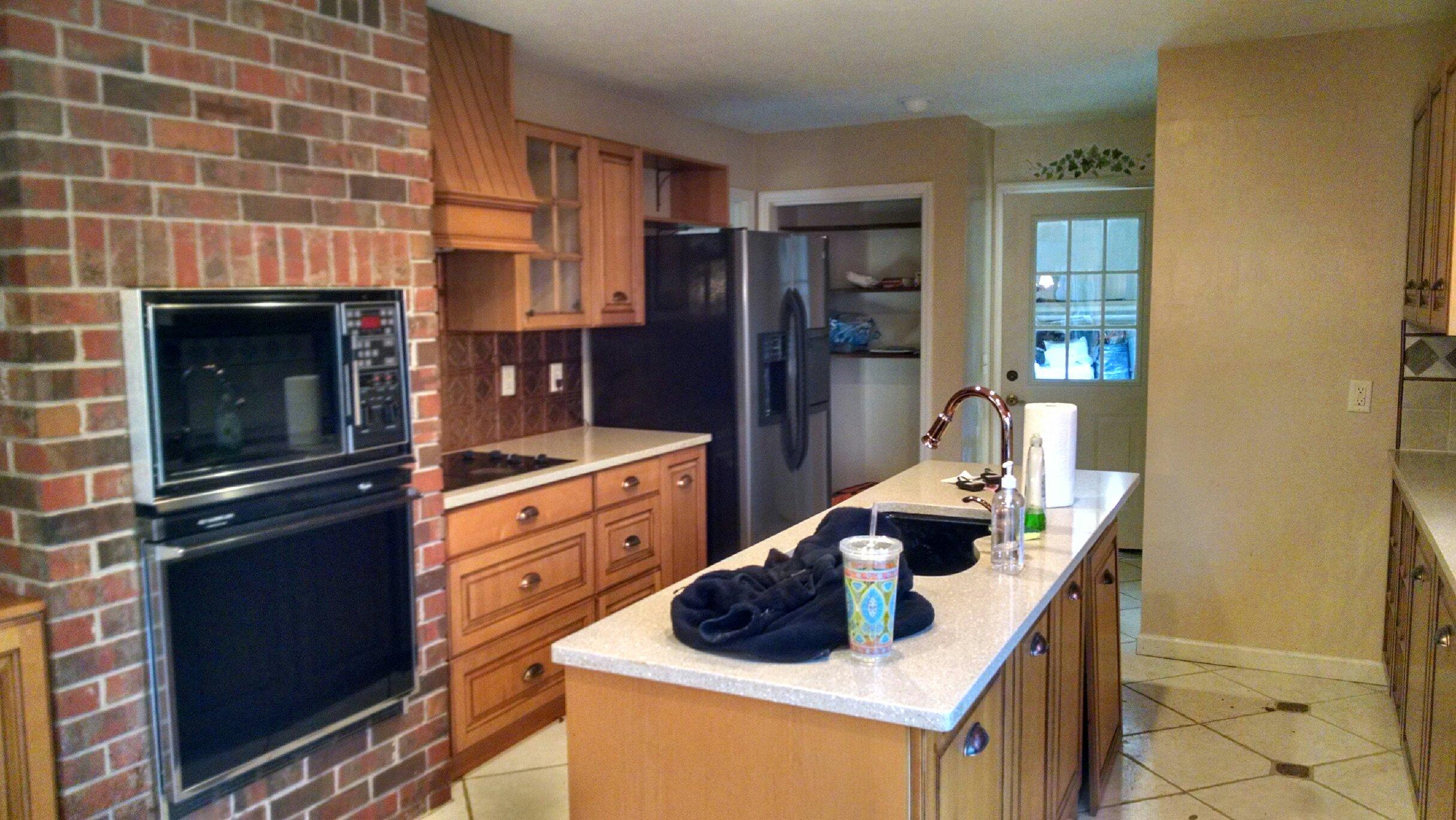 before  how i renovated my 1980 u0027s kitchen on a crazy low budget  diy      rh   designingvibes com