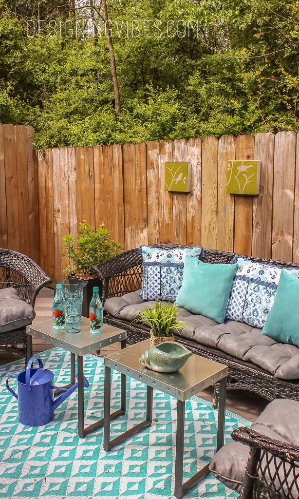 patio furniture makeover diy