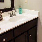 How To Paint Cultured Marble Countertops Diy Tutorial