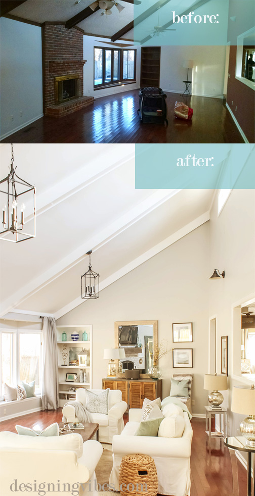 fixer upper before and after living room how i chose my fixer home what to look for 566