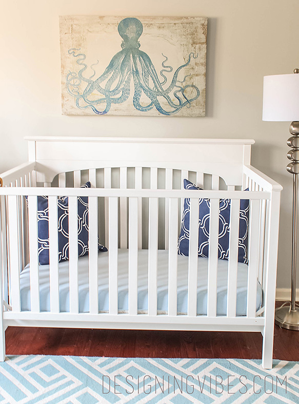 toddler coastal nursery for boy