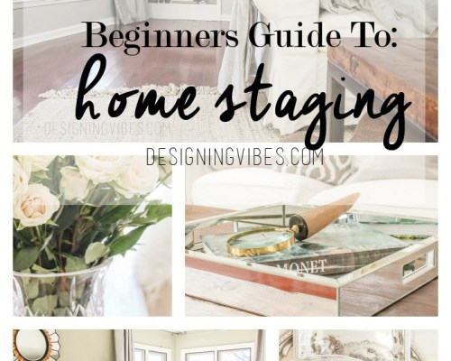 how to stage a home