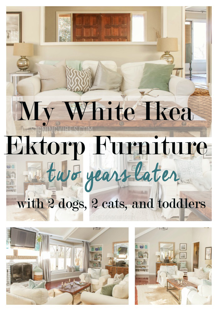 An Honest Review of My White Ikea Ektorp Furniture  Designing