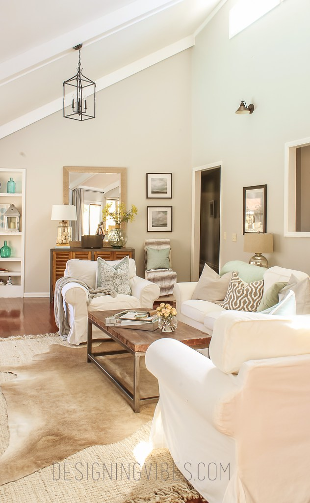 rustic glam spring home tour