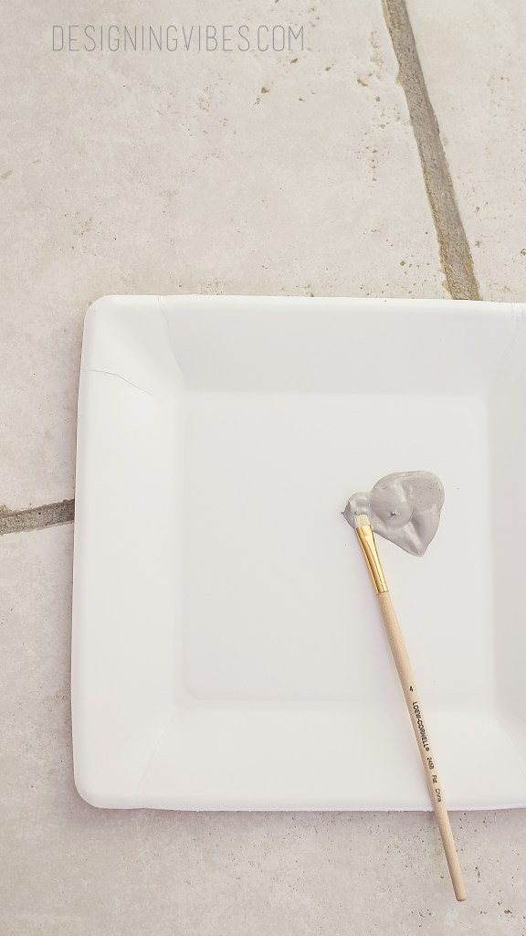how to paint over dirty grout