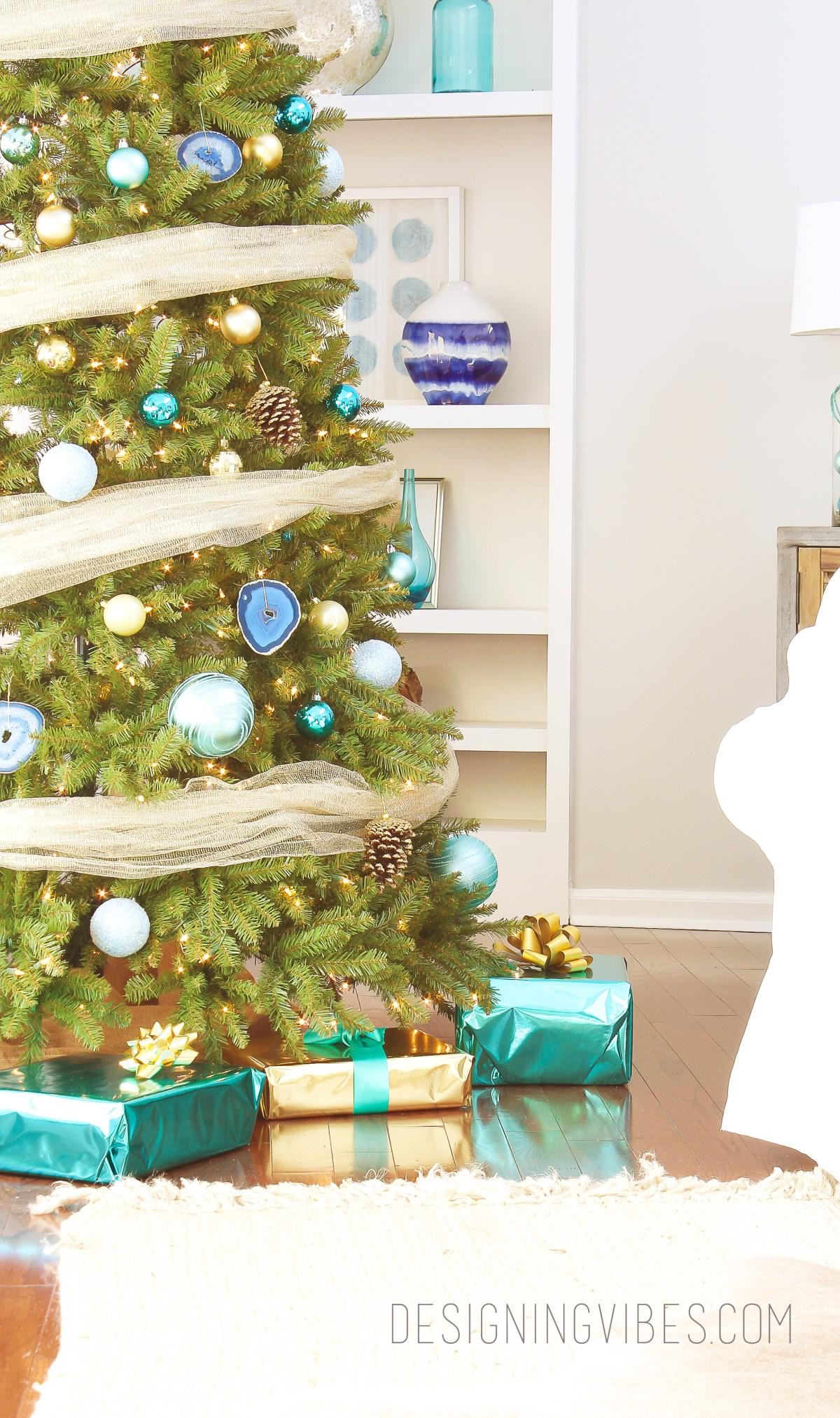 boho glam christmas tree
