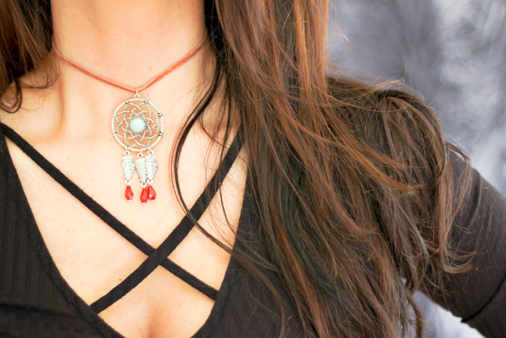 easy boho choker diy
