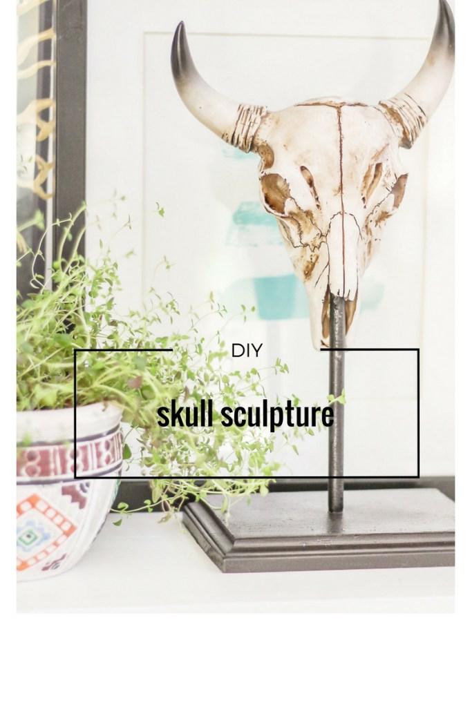 diy taxidermy sculpture for under $10
