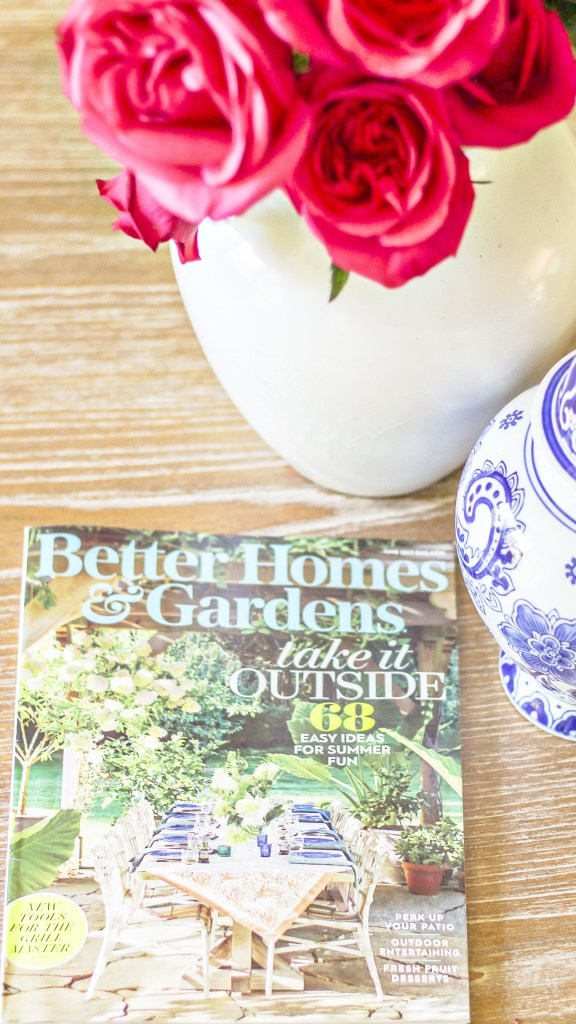 how i got into better homes and gardens magazine