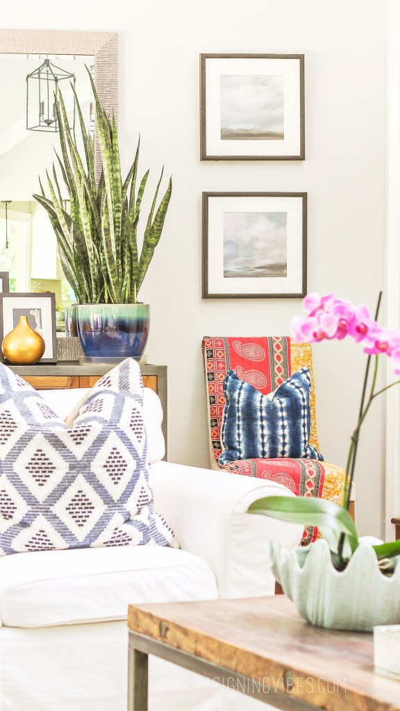 boho glam summer decor