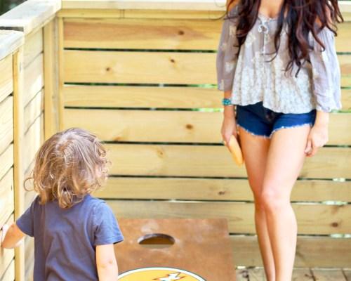 custom cornhole board diy