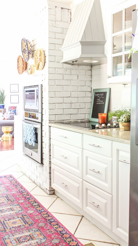 boho glam kitchen decor