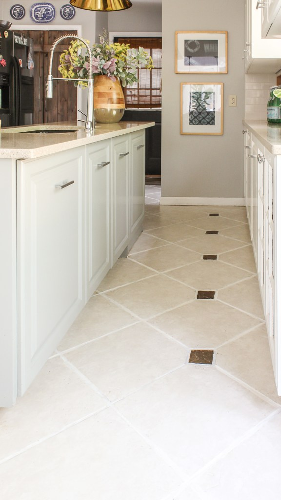 easiest way to clean tile flooring that has been neglected