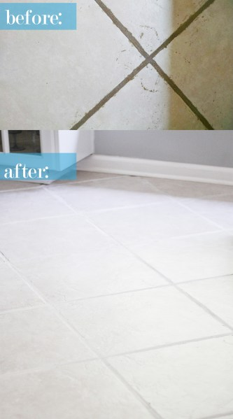 The Easiest Way to Clean Filthy  Neglected Tile Flooring the easiest way to clean neglected ceramic tile floor