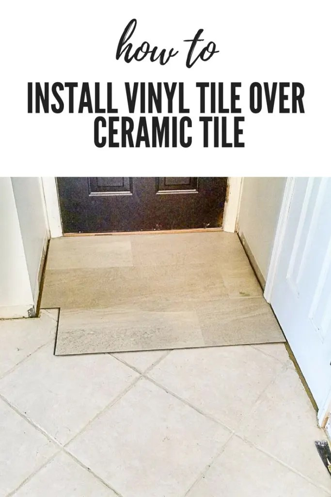 neglected tile flooring