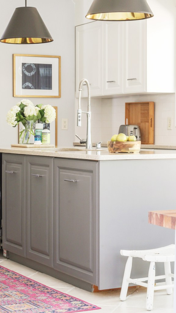 A Review Of My Milk Paint Cabinets Month Follow Up - Milk paint for kitchen cabinets