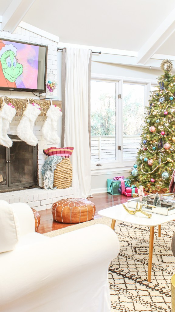 midcentury modern christmas decor