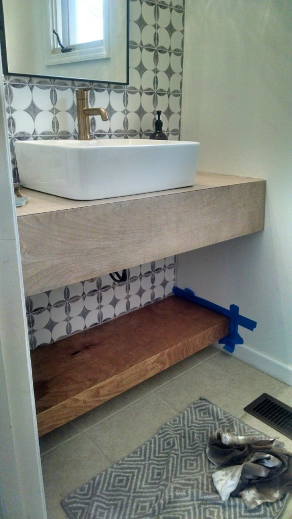Floating Vanity Diy Modern Bathroom Decor