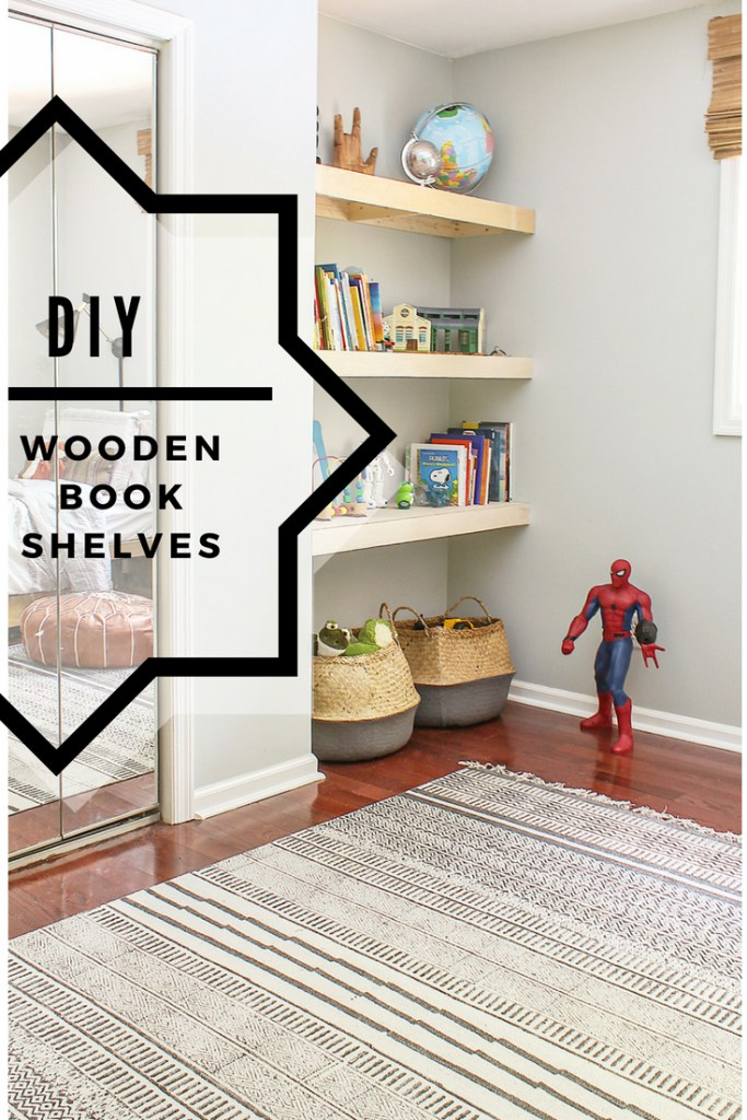 size 40 01d4b d25be DIY Natural Wood Alcove Shelving - Easy Floating Shelves