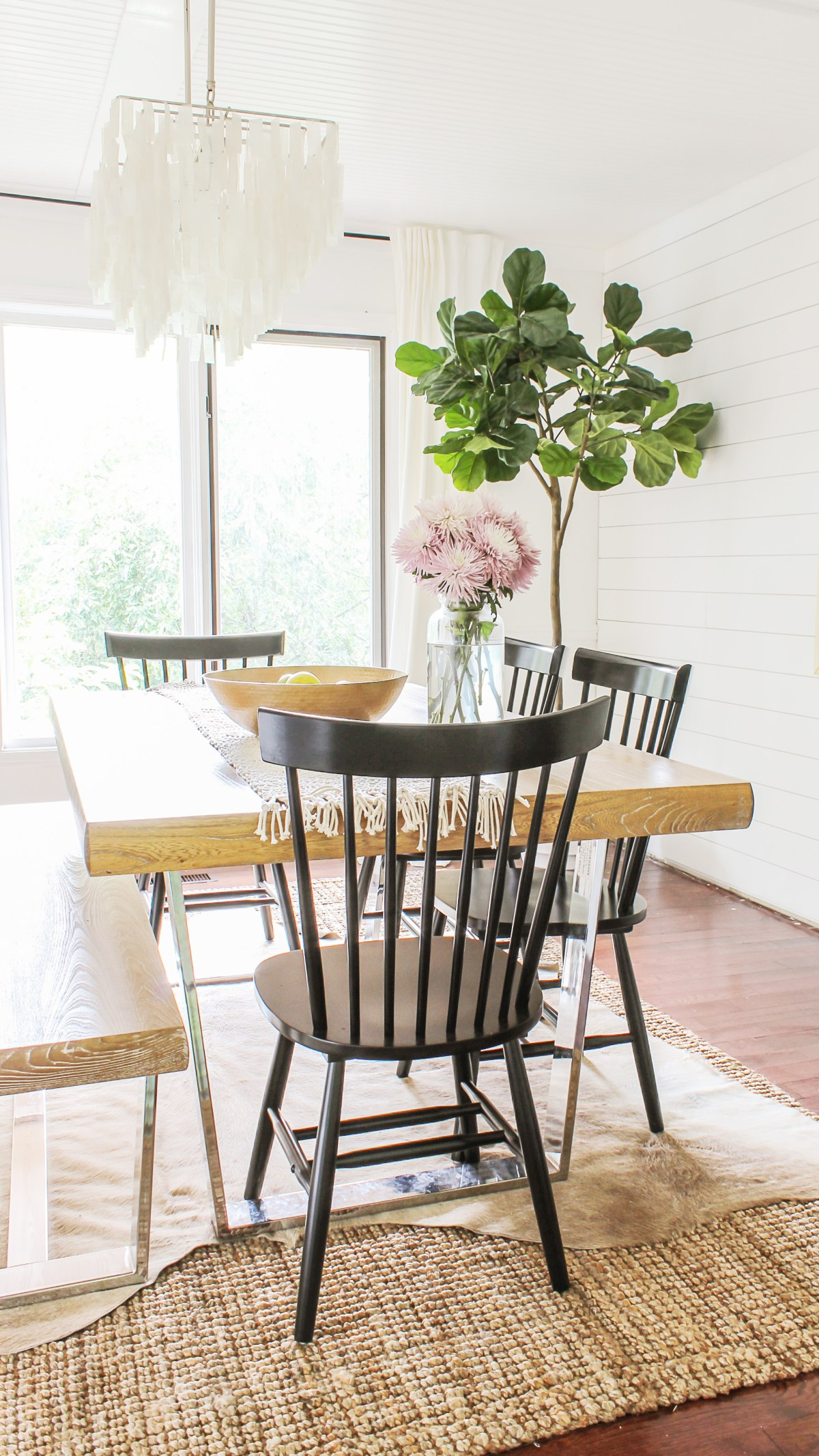 Modern Farmhouse Dining Chairs Under $100 - Decor on the Cheap