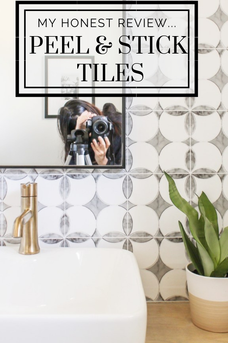- An Honest Review Of My Peel And Stick Tiles - One Year Later