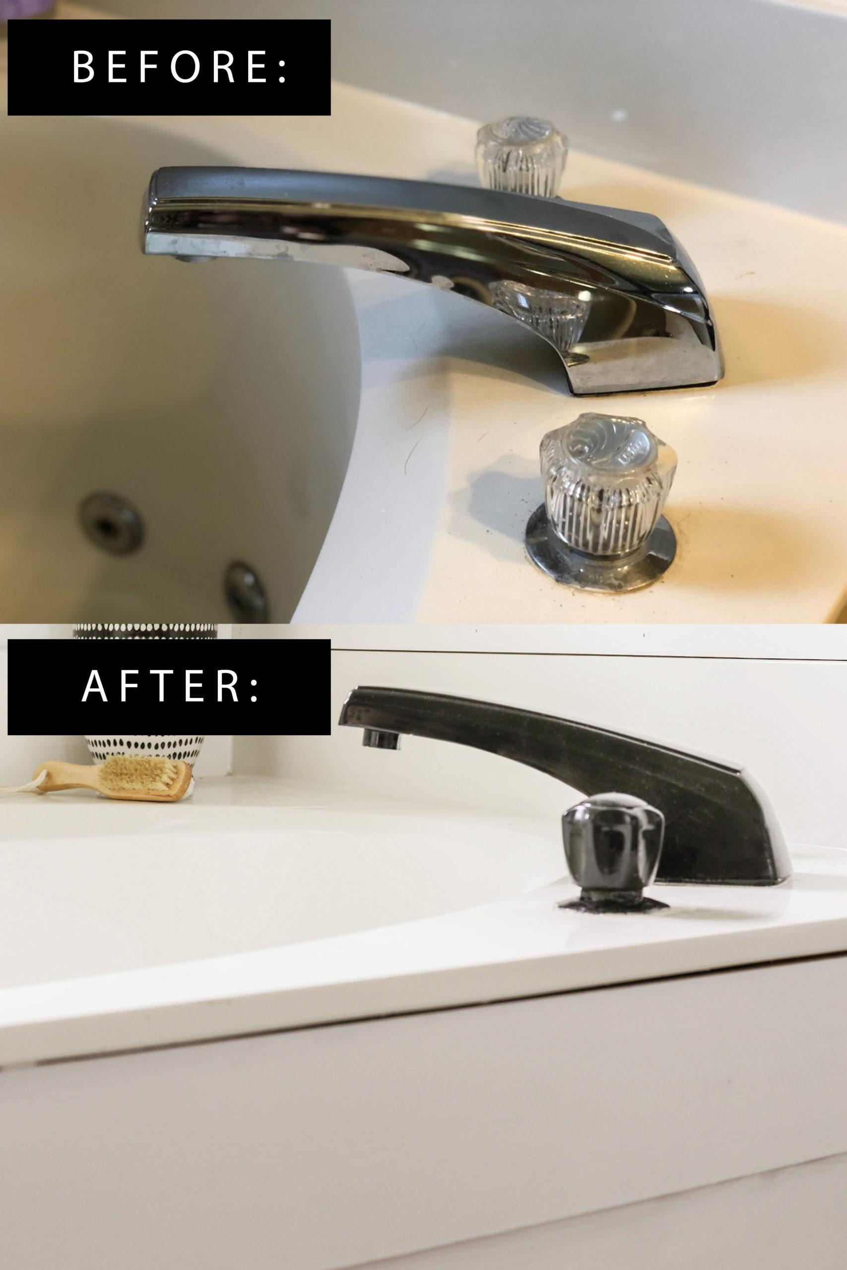 diy faucet transformation for under 15