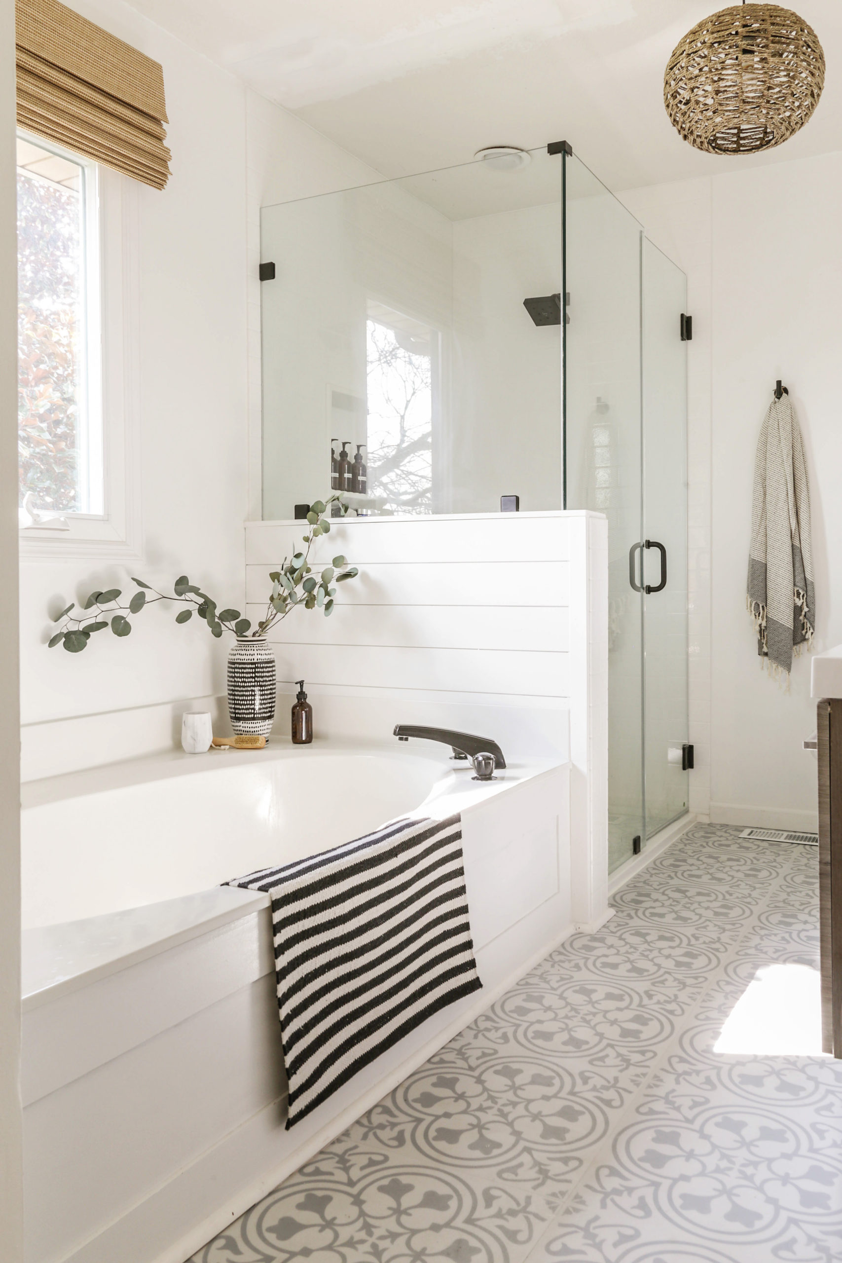 Modern Farmhouse Before and After Home Tour - Designing ... on Modern Farmhouse Shower  id=76683