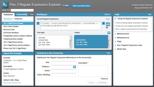 regularexpressionexplorer