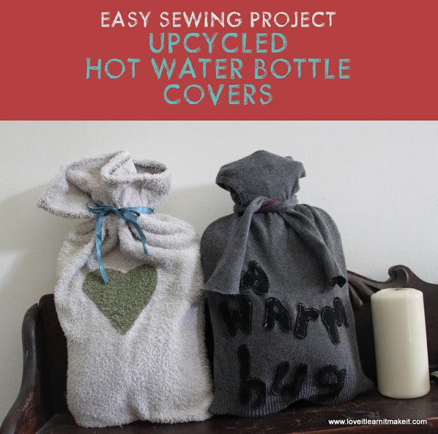 2 Easy Sew Hot Water Bottle Covers – Design Inkarnation