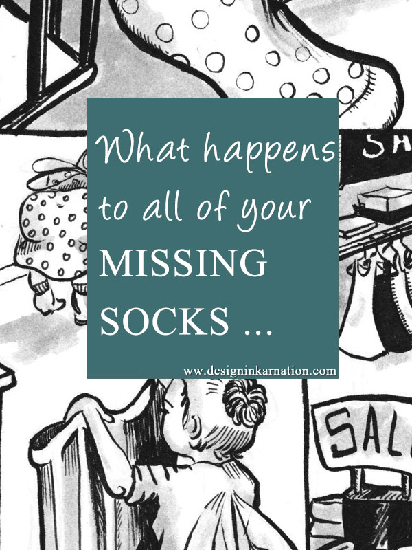 What Happens to All of Your Missing Socks