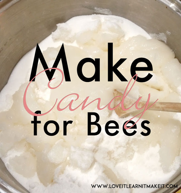 Make Candy For Bees