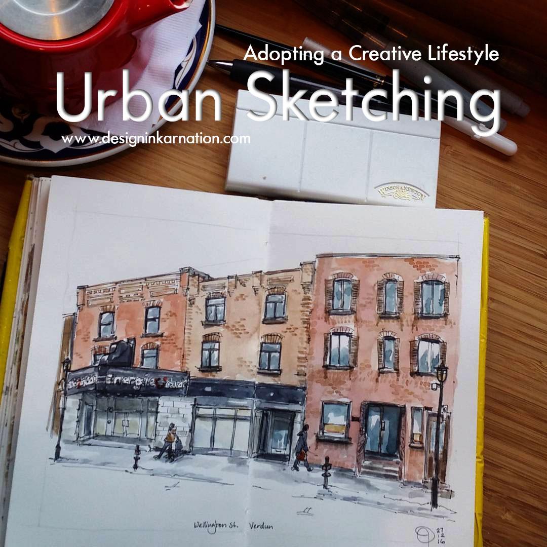 Urban Sketching, A Creative Lifestyle