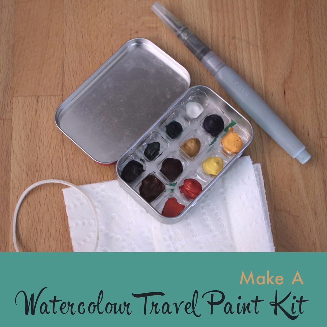 Watercolour Travel Kit Tutorial